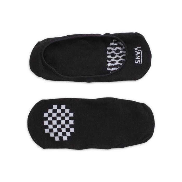 Ponožky Vans GIRLY NO SHOW  Black/White (2 PAIR)