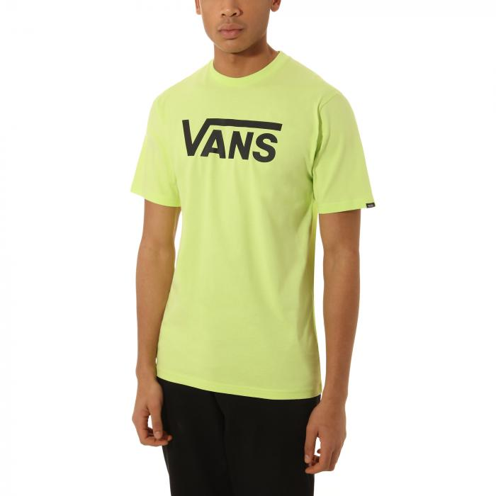 Tričko Vans CLASSIC SHARP GREEN/BLACK