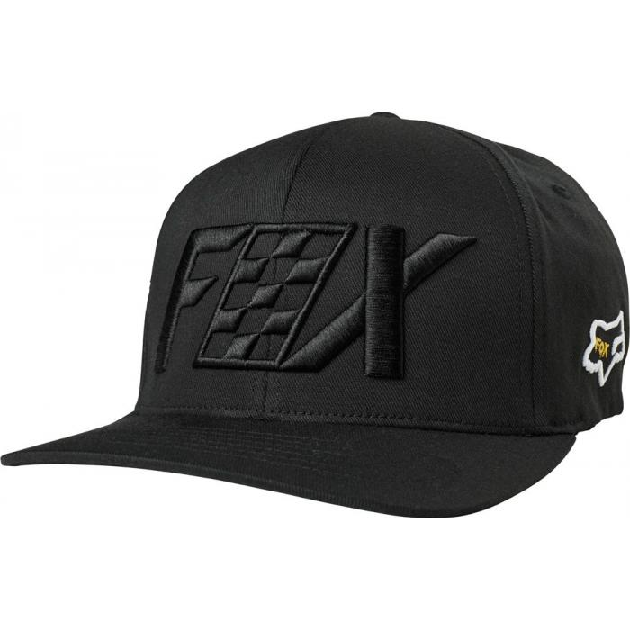 Kšiltovka Fox Czar Flexfit Hat Black