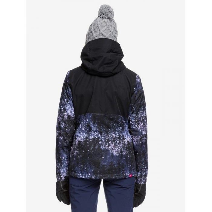 Zimní bunda Roxy JETTY 3N1 JK MEDIEVAL BLUE SPARKLES