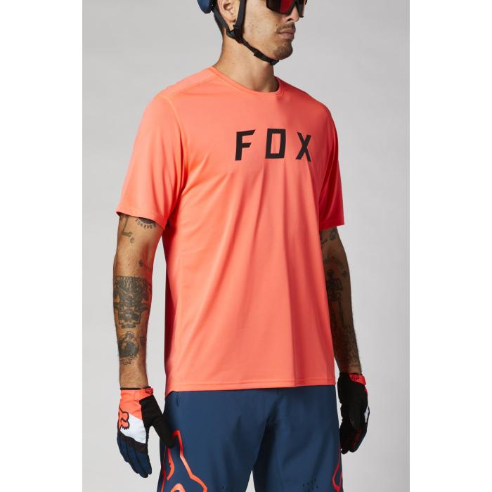 Pánský cyklodres Fox Ranger Ss Jersey Fox Atomic Punch