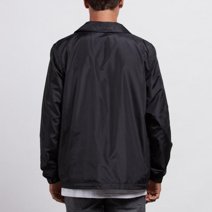 Bunda Volcom Brews Coach Jacket Black