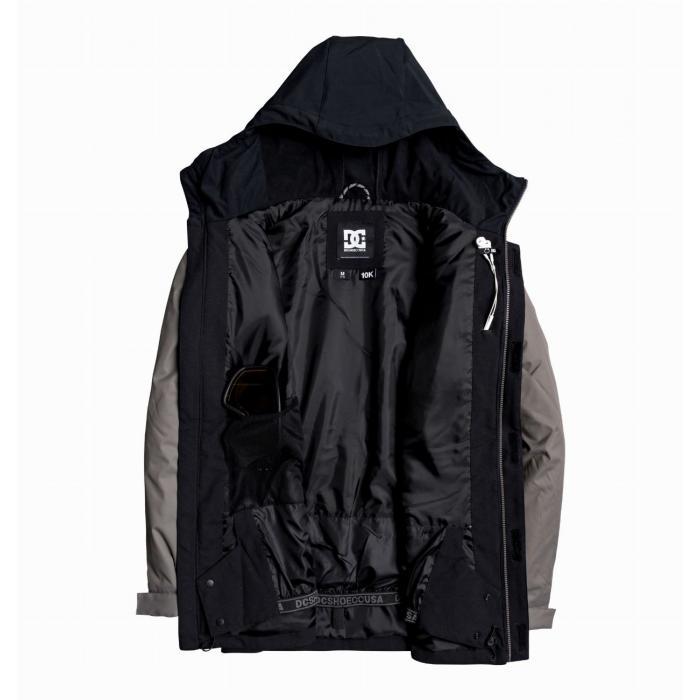 Zimní bunda DC DCLA Jkt BLACK