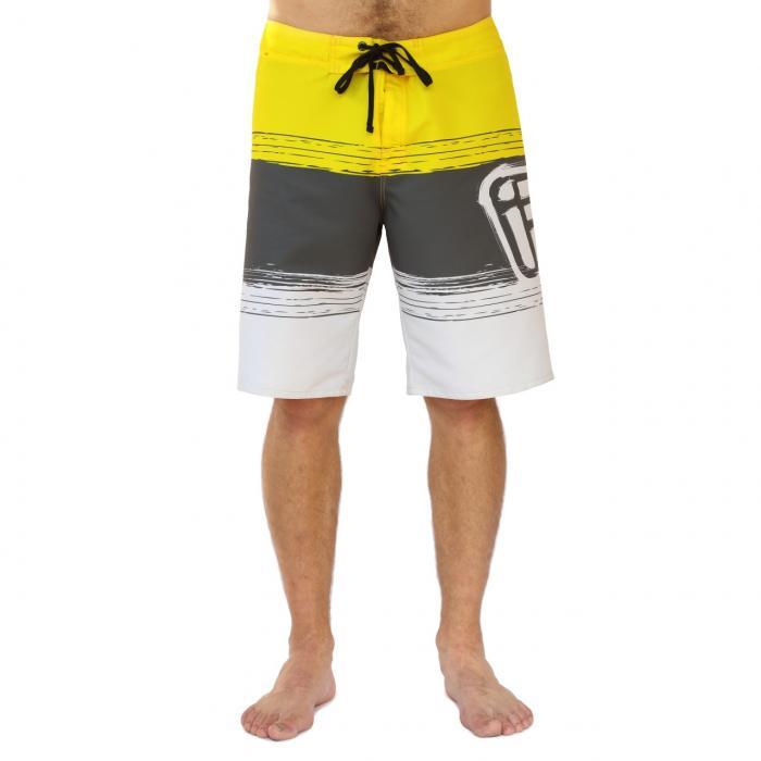 Koupací šortky Funstorm Wawahi yellow