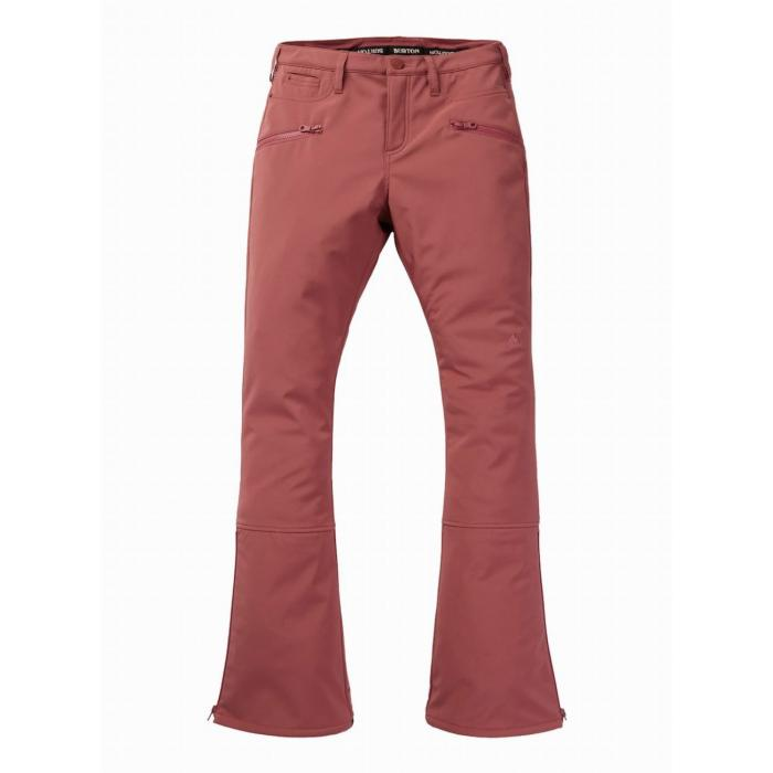 Snowboardové kalhoty Burton W IVY OVER-BOOT PT ROSE BROWN