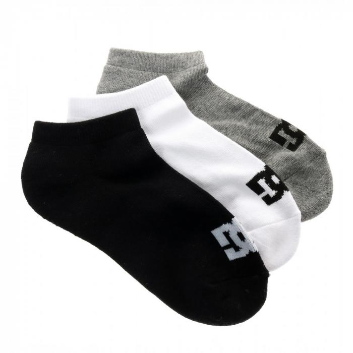 Ponožky DC SPP DC ANKLE 3PK ASSORTED