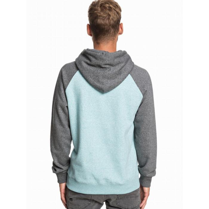 Mikina Quiksilver EVERYDAY HOOD AQUA SPLASH HEATHER