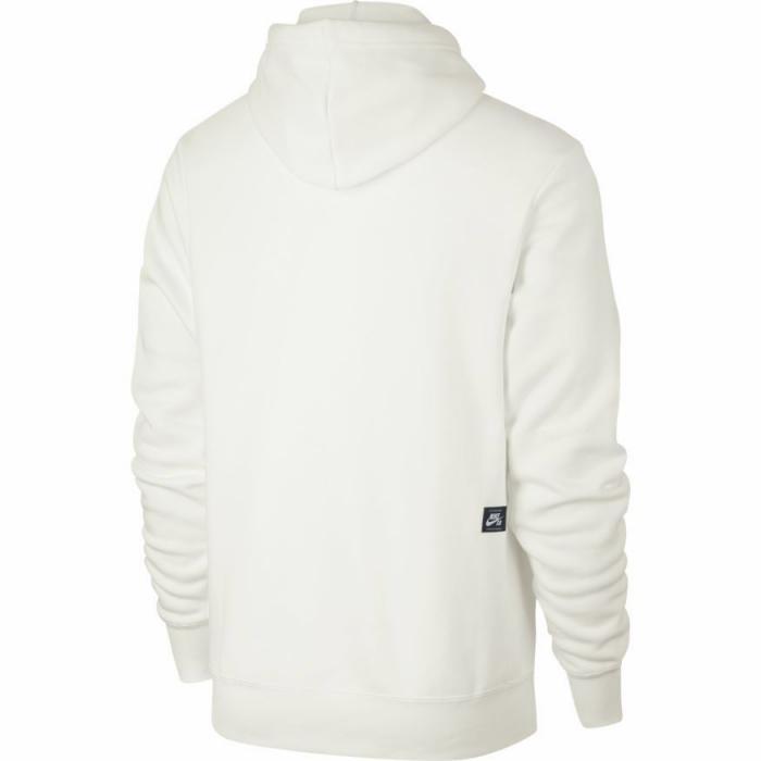 Mikina Nike SB ICON HOODIE PO ESSNL summit white/rose gold