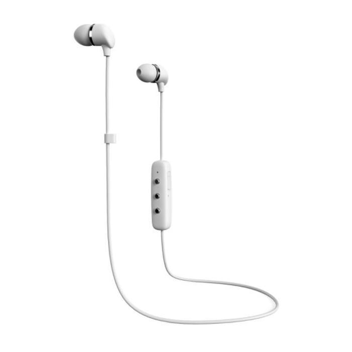 Sluchátka Happy Plugs In-Ear Wireless White