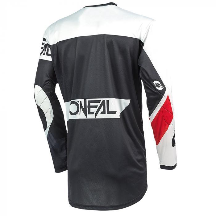 Pánský cyklodres Oneal ELEMENT RACEWEAR black/white