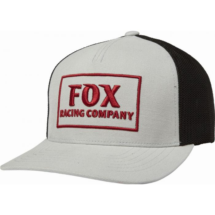 Kšiltovka Fox Heater Snapback Hat Steel Grey
