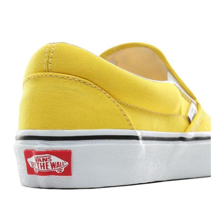 Boty Vans Classic Slip-On vibrant yellow/true white