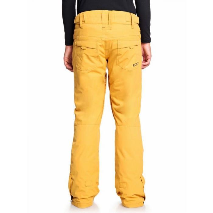 Snowboardové kalhoty Roxy BACKYARD PT SPRUCE YELLOW
