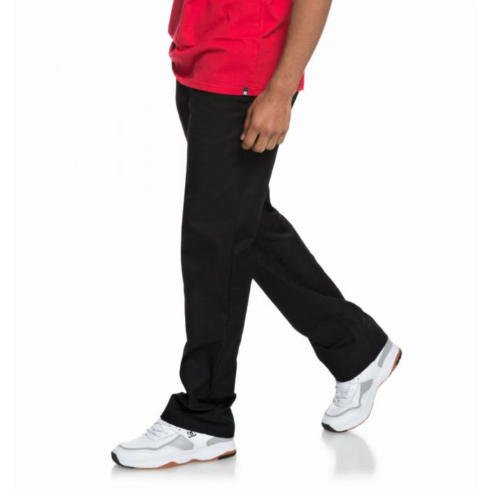 Kalhoty DC WORKER RELAXED BLACK