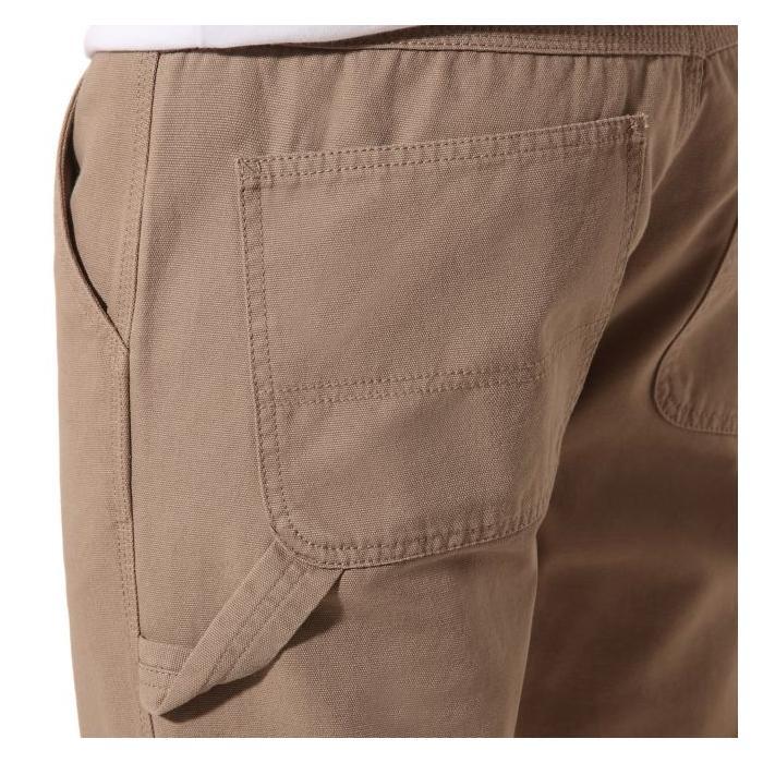 Kalhoty Vans HARDWARE DOUBLE KNEE PANT MILITARY KHAKI