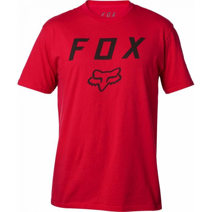 Tričko Fox Legacy Moth Ss Tee Dark Red