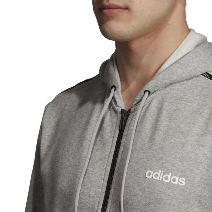 Mikina Adidas M C90 CB FZ MGREYH/BLACK/WHITE