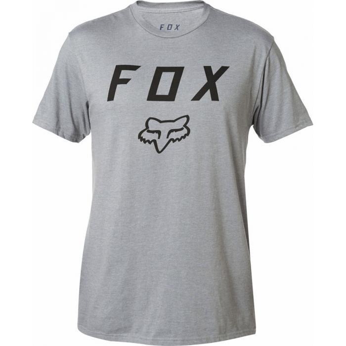Tričko Fox Legacy Moth Ss Tee Heather Graphite