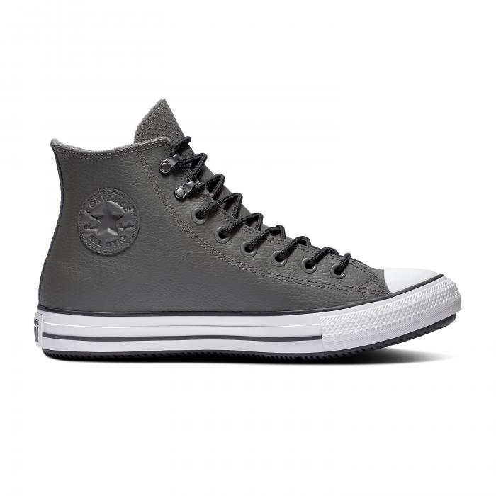 Boty Converse CHUCK TAYLOR ALL STAR WINTER FIRST STEPS CARBON GREY/BLACK/WHITE