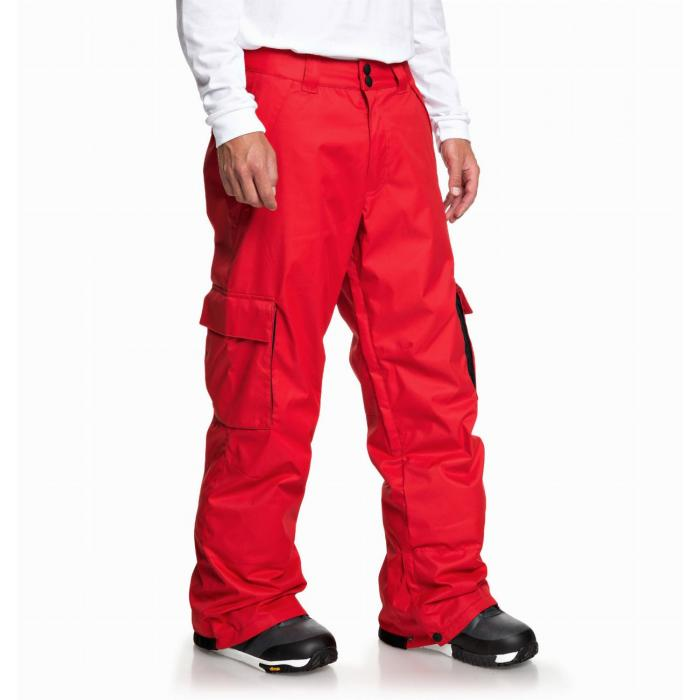 Snowboardové kalhoty DC BANSHEE Pnt RACING RED