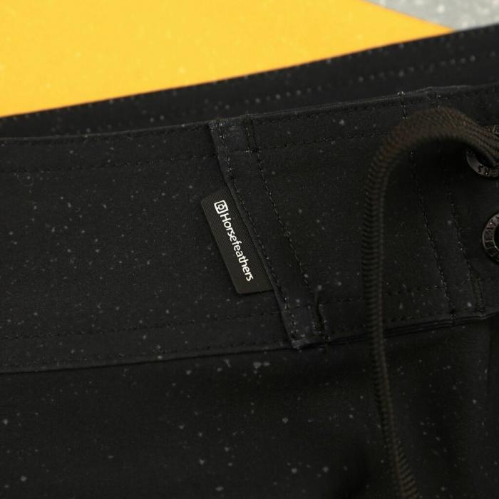 Koupací šortky Horsefeathers VIC BOARDSHORTS aqua
