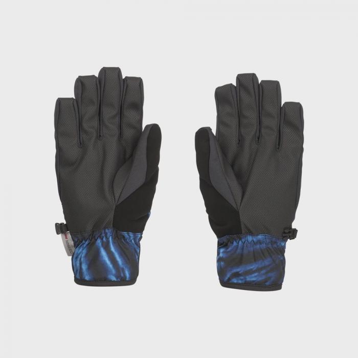 Rukavice Volcom Nyle Glove Blue Tie-Dye