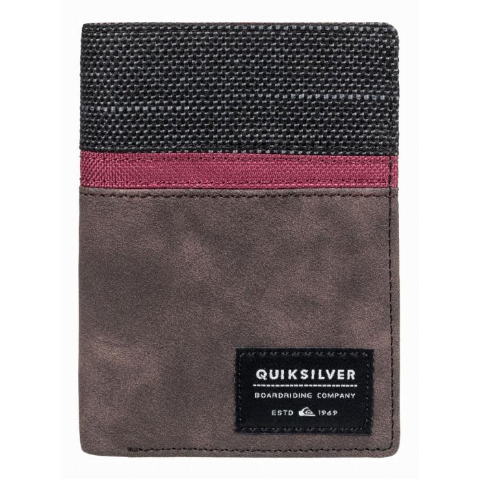 Peněženka Quiksilver STORMERY CHOCOLATE BROWN
