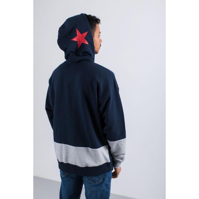 Mikina Converse One Star Block Pck PO Hoodie OBSIDIAN MULTI