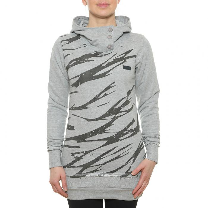 Mikina Funstorm Craute grey