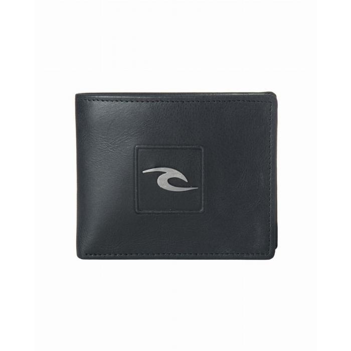 Peněženka Rip Curl RIDER RFID 2 IN 1  BLACK