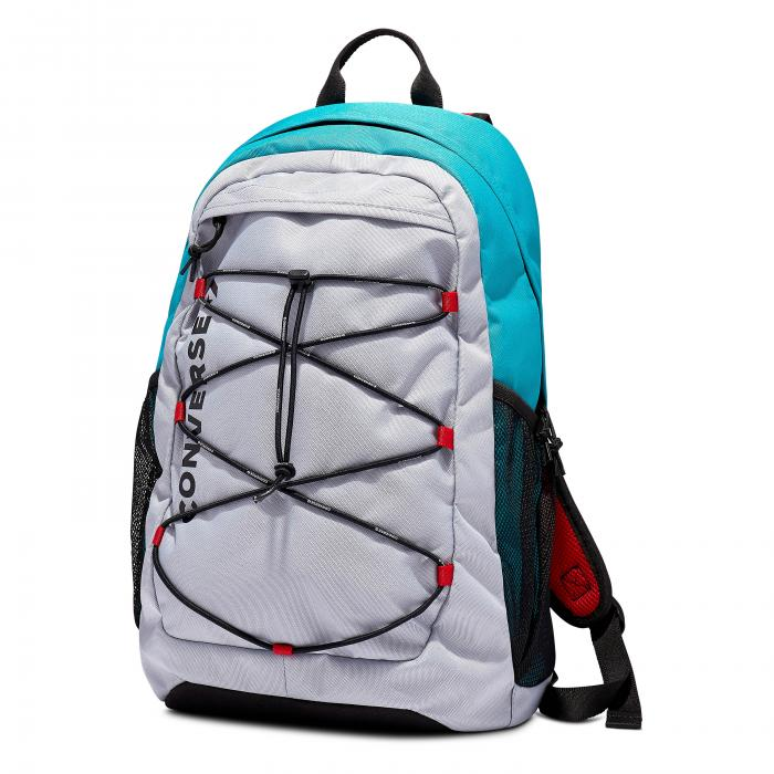 Batoh Converse SWAP OUT BACKPACK WOLF GREY/TURBO GREEN/ENAMEL R