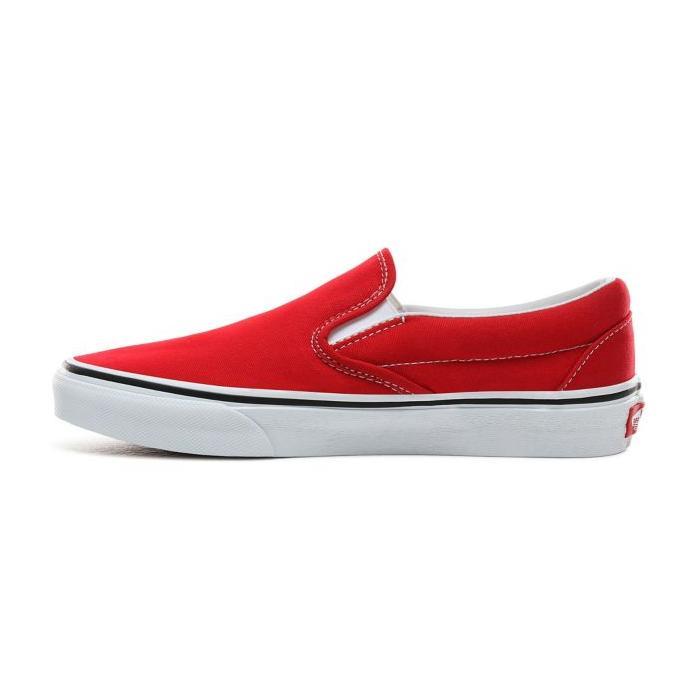 Boty Vans Classic Slip-On RACING RED/TRUE WHITE