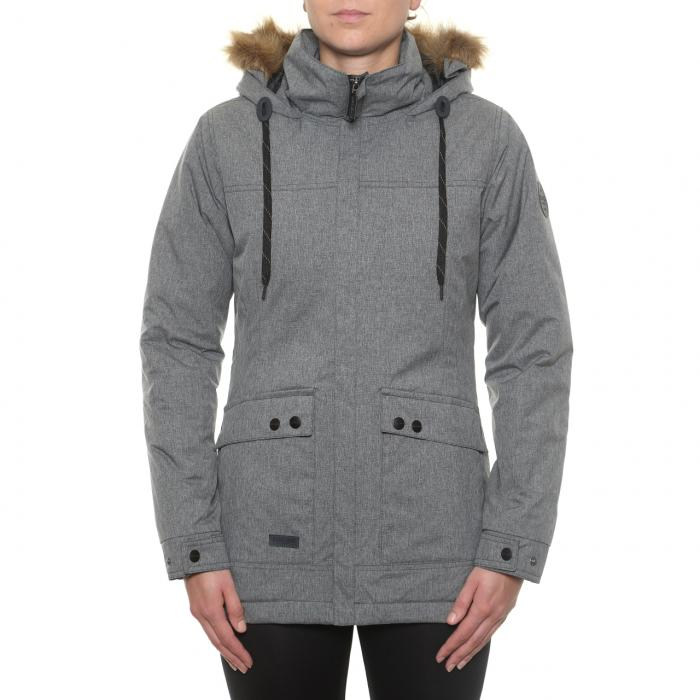Zimní bunda Funstorm Stapla dark grey
