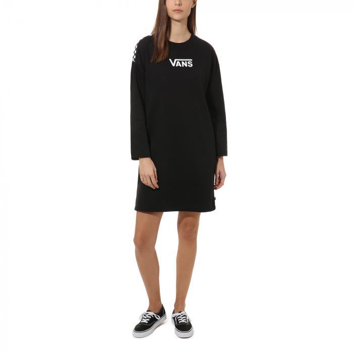 Šaty Vans CHROMO II DRESS BLack