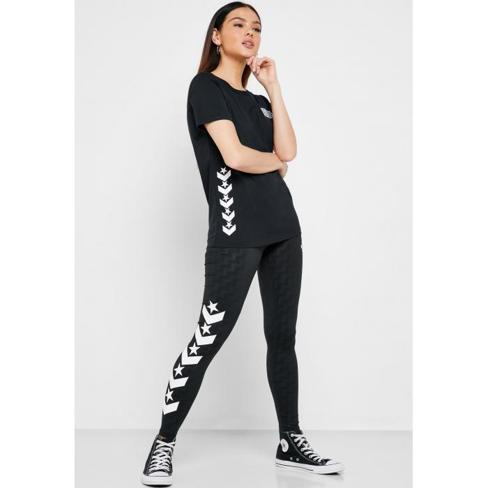 Legíny Converse VOLTAGE LEGGING BLACK MULTI