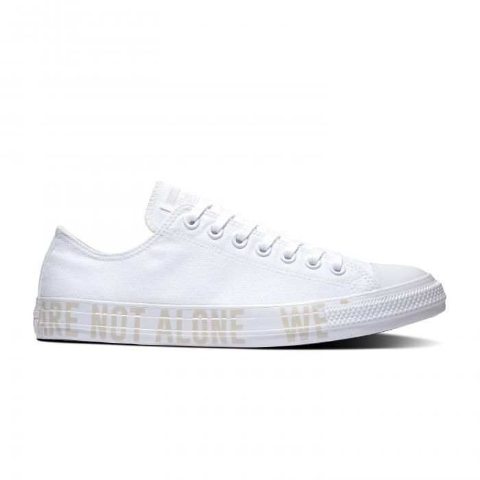 Boty Converse CHUCK TAYLOR ALL STAR WE ARE NOT ALONE WHITE/PALE PUTTY/WHITE