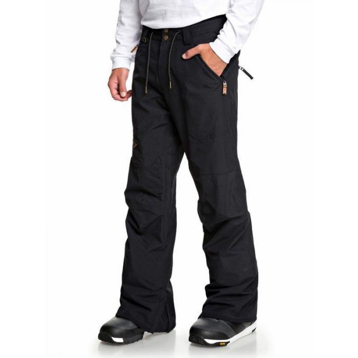 Snowboardové kalhoty Quiksilver ELMWOOD PT BLACK