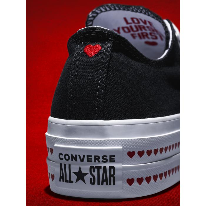 Boty Converse Chuck Taylor All Star Lift BLACK