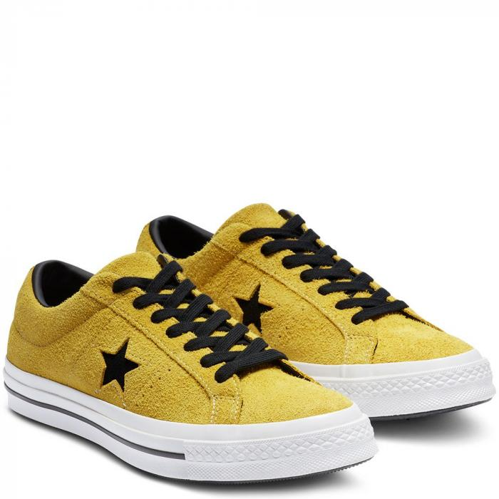 Boty Converse One Star bold citron/black/white