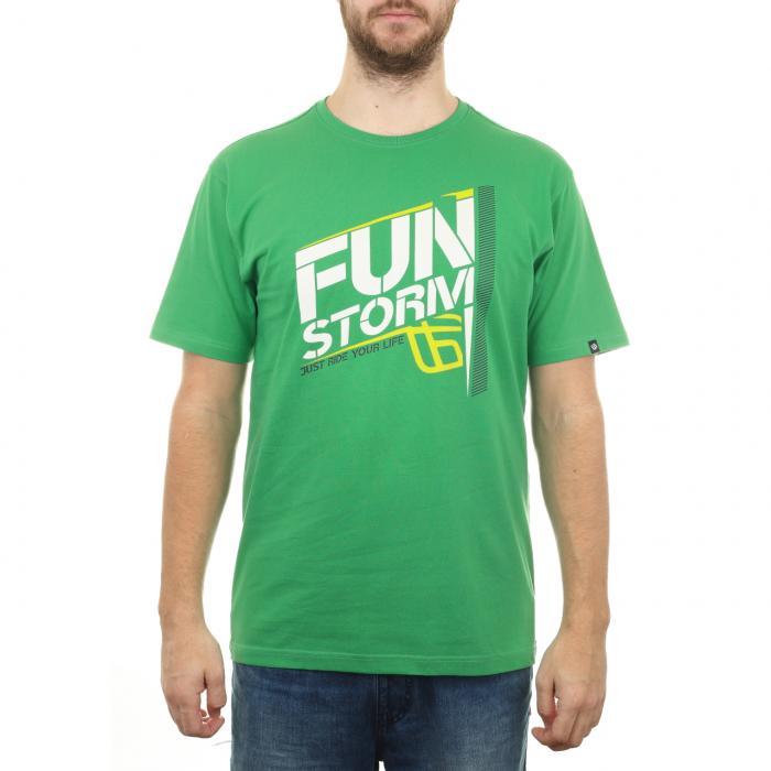Tričko Funstorm Litars green