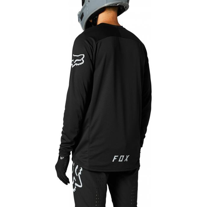 Pánský cyklodres Fox Defend Ls Jersey Black