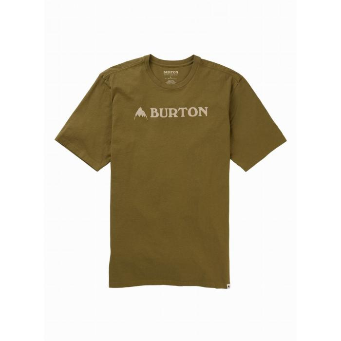 Tričko Burton HORIZONTAL MTN SS MARTINI OLIVE