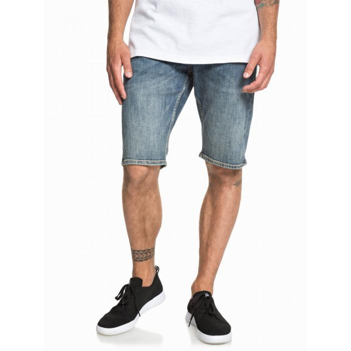 Kraťasy Quiksilver SEQUEL SHORT MEDIUM BLUE