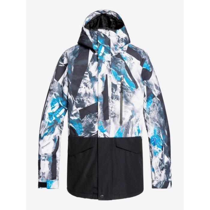 Zimní bunda Quiksilver MISSION PRINTED BLOCK JK CLOISONNE RANDOM PICS