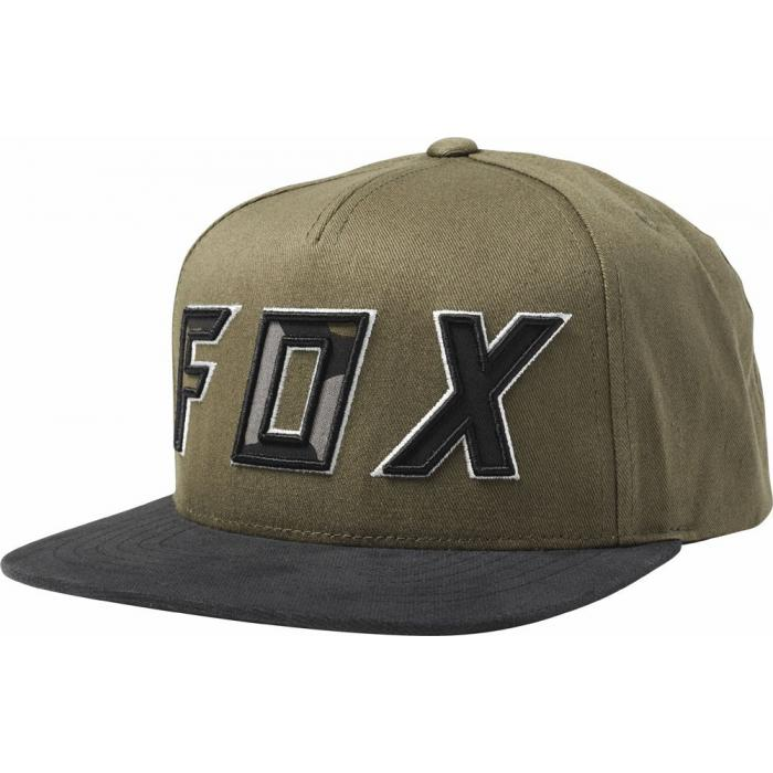 Kšiltovka Fox Posessed Snapback Hat Olive Green