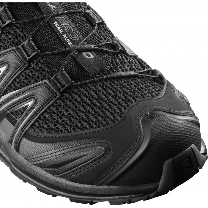 Běžecké boty Salomon XA PRO 3D WIDE Black/Magnet/Quiet Shade