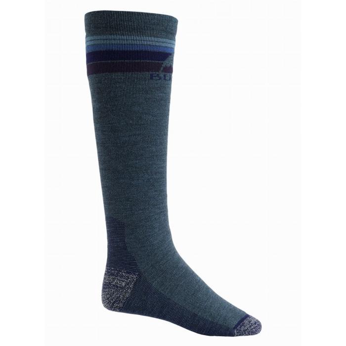 Ponožky Burton M EMBLEM MDWT SK INDIGO HEATHER