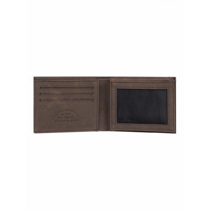 Peněženka Quiksilver BRIDGIES III CHOCOLATE BROWN