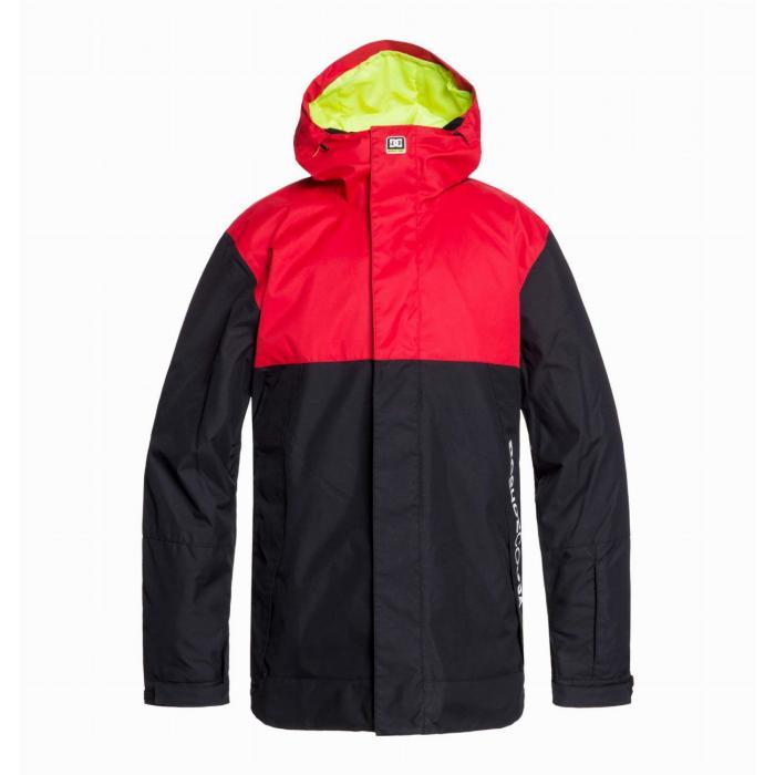Zimní bunda DC DEFY Jkt RACING RED