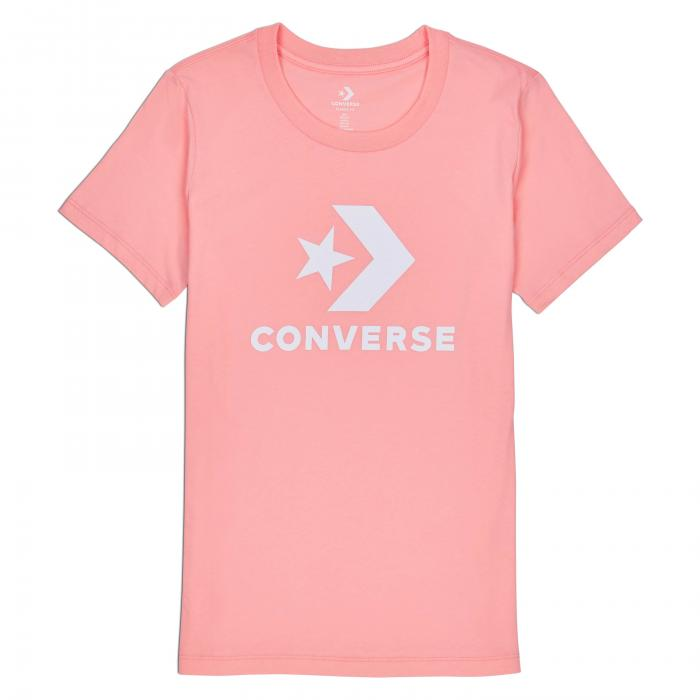 Tričko Converse Star Chevron Core SS Tee BLEACHED CORAL
